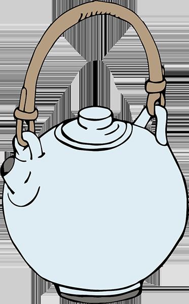 Dessin d'une théière